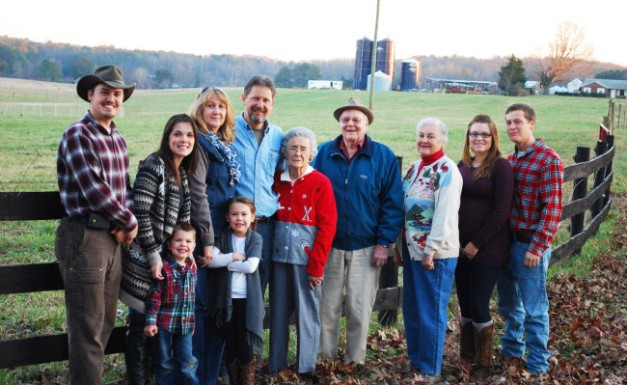 Isbell Family of Keenbell Farm 2014