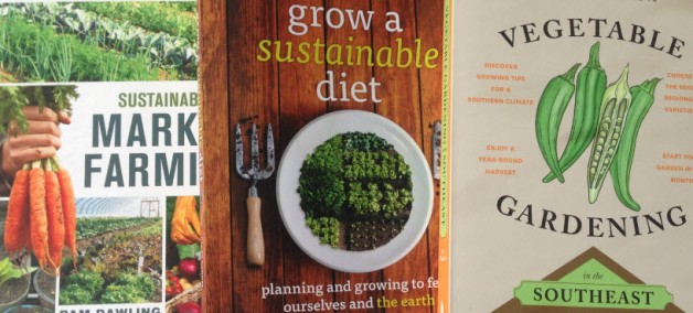 virginia sustainable gardening books 2014
