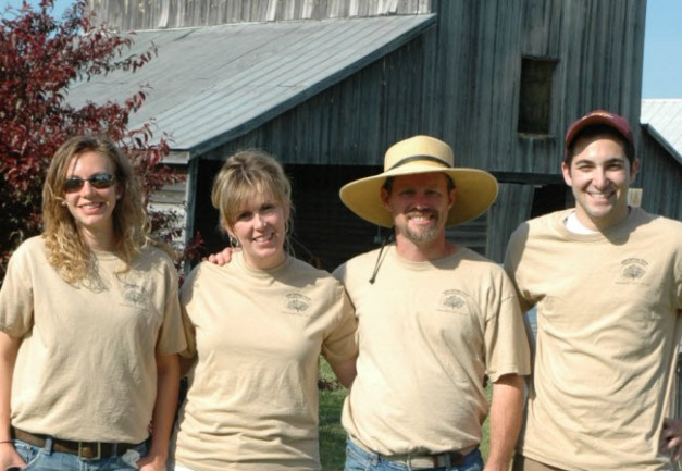 Elim Springs Farm crew Amelia Virginia