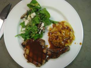 final meal UR Culinary school